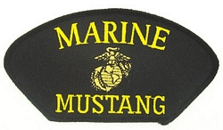 Marine Mustang Patches
